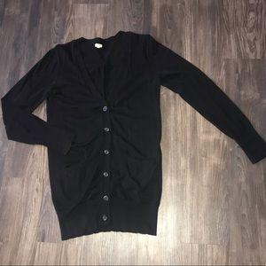 J. Crew Black Sweater
